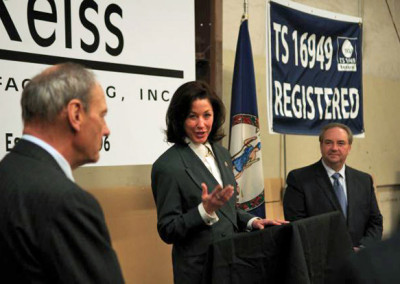 Susan Brooks of Northrop Grumman Shipbuilding describes the partnership with Reiss.