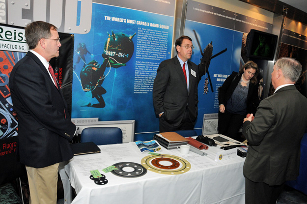 Reiss Meets Seán Crean, Director, Small Business for Navy, at American Shipbuilding Suppliers Association Meeting